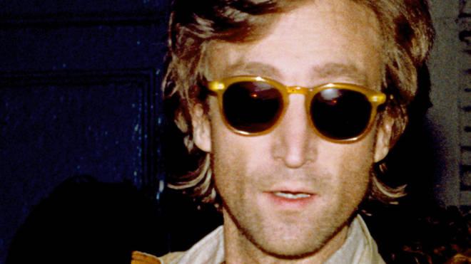 John Lennon recording in New York in August 1980