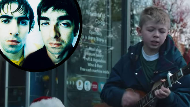 Oasis B-side Round Are Way features in Co-ip Christmas ad