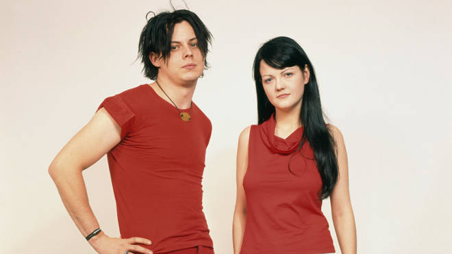 Jack and Meg White of The White Stripes in February 2002