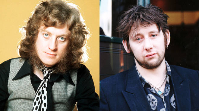Noddy Holder of Slade and Shane MacGowan of The Pogues