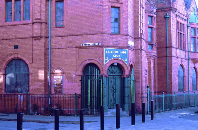 Salford Lads Club, situated on a REAL Coronation Street in Salford
