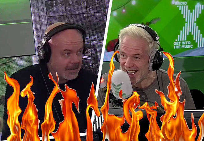 Dom gets pranked into trying the world's hottest chilli chocolate on The Chris Moyles Show