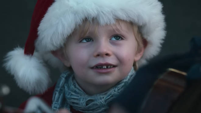 Young actor Rocco appears in Co-op's Christmas Ad