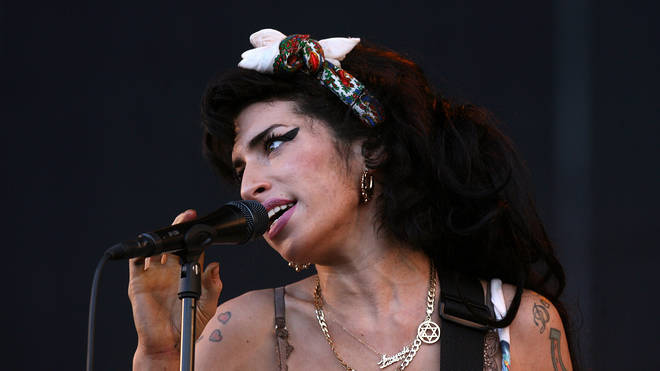 Amy Winehouse performing at Oxegen Festival in 2008