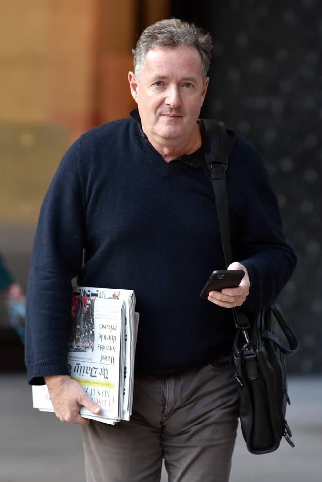 Piers Morgan in February 2020