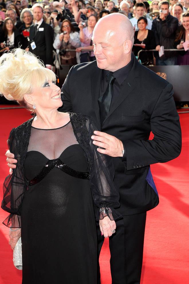 Barbara Windsor and Ross Kemp at the BAFTA Television Awards 2009