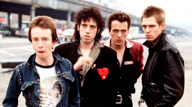 The Clash in 1978: Topper Headon, Mick Jones, Joe Strummer, Paul Simonon.