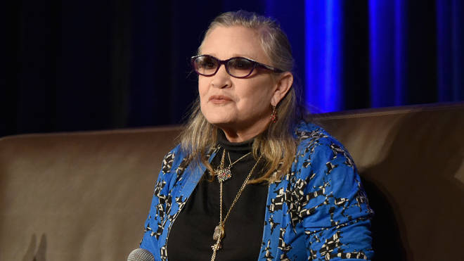 Carrie Fisher speaks onstage during Wizard World Comic Con Chicago in August 2016