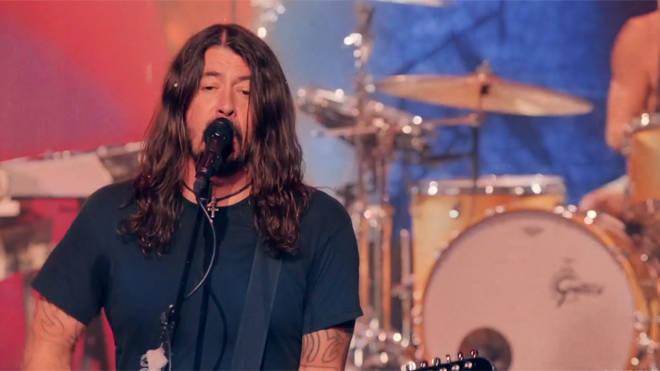 Foo Fighters perform Run Rudolph Run