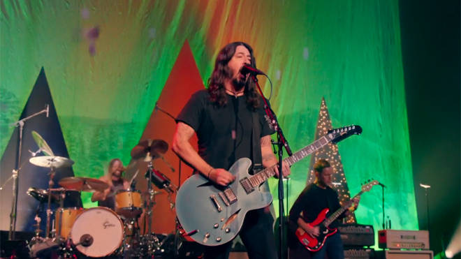 Foo Fighters on Amazon Music Holiday Plays