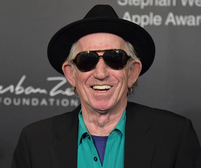 Keith Richards in 2018