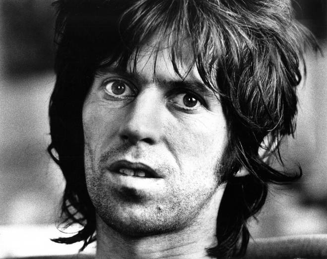 Keith Richards in Brussels, 1976