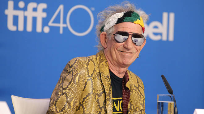 Keith Richards in Toronto, 2015