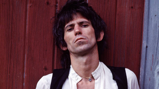 Keith Richards shortly after his arrest in Toronto for heroin possession, 1978.