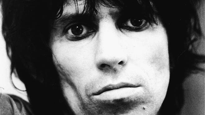 Keith Richards in May 1976