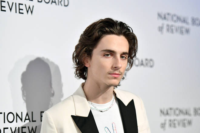 Timothée Chalamet in January 2020
