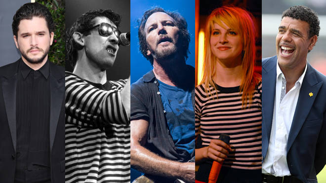 Kit Harington, Shane MacGowan, Eddie Vedder, Hayley Williams and Chris Kamara - all celebrating birthdays over the Christmas period!