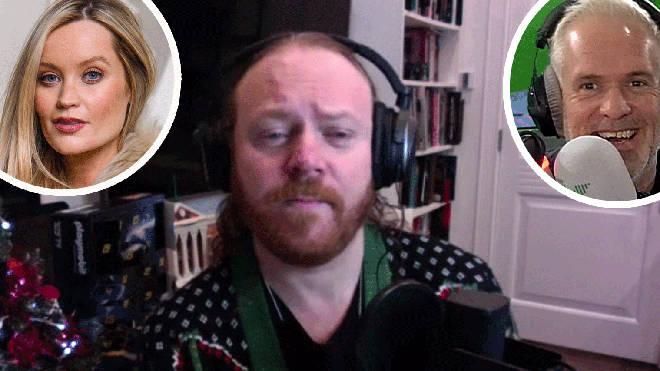 Keith Lemon talks Laura Whitmore's pregnancy news on The Chris Moyles Show