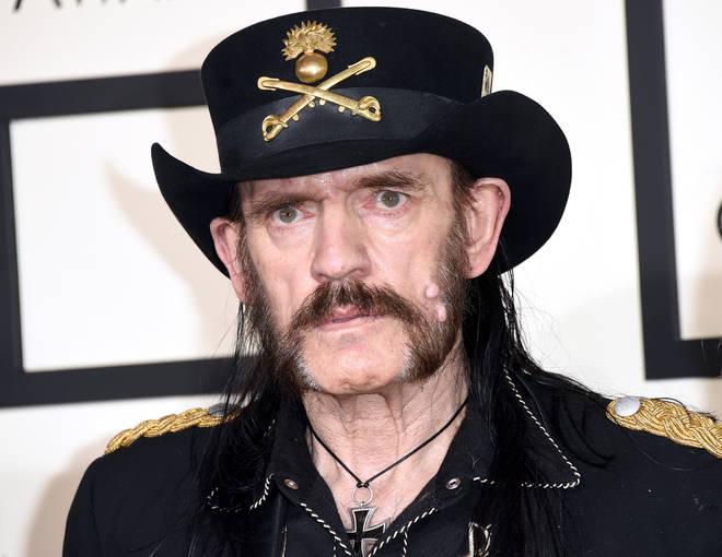 Lemmy at the Grammy Awards in LA, 2015