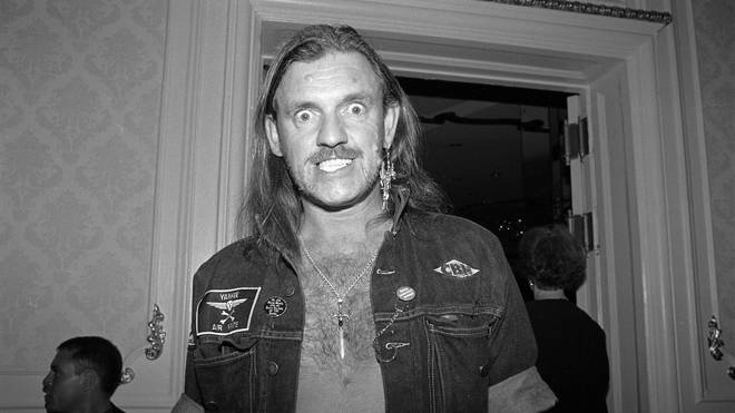 Lemmy at a Grammy Awards party in February 1992