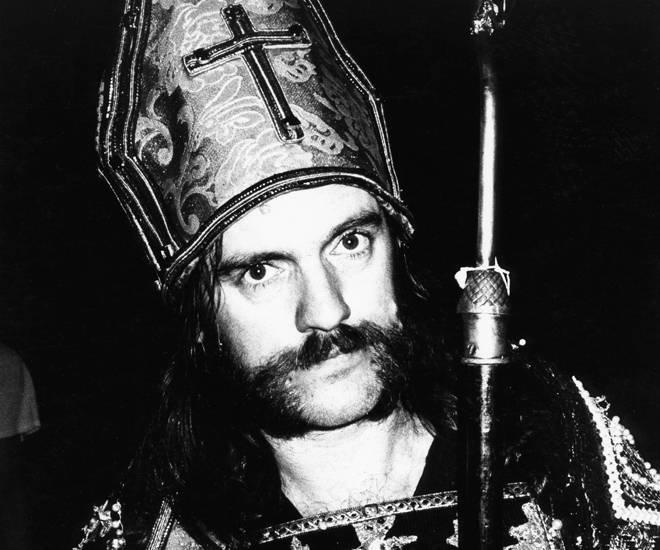 Lemmy embraces religion, 1984