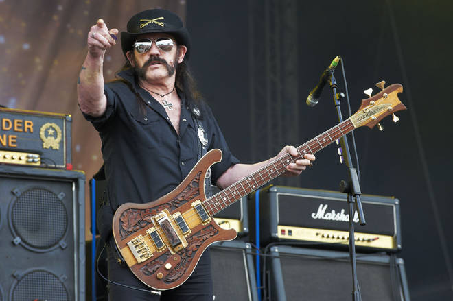 Lemmy performing at Sonisphere 2011