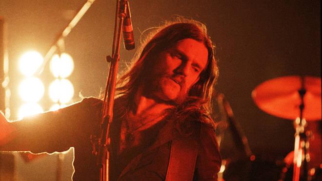 Motorhead Perform At Hammersmith Odeon In London