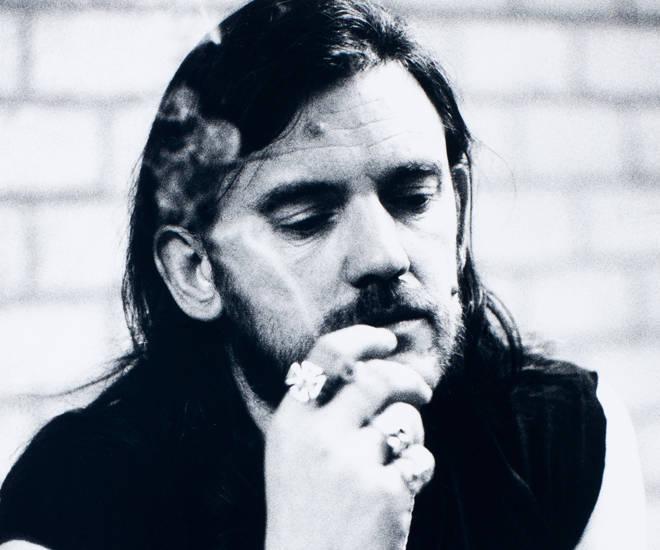 Lemmy of Motorhead in the Netherlands, November 1987.