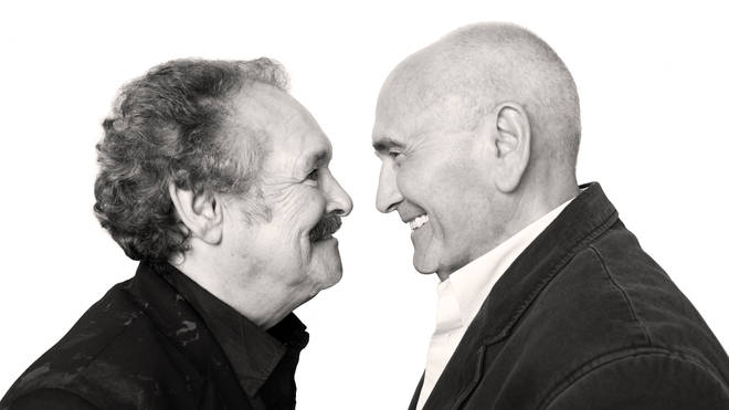 Bobby Ball (left,1944-2020) with partner Tommy Cannon in 2009