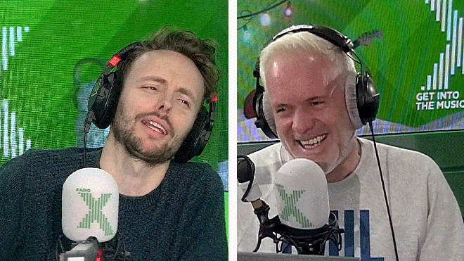 James get pranked again on The Chris Moyles Show
