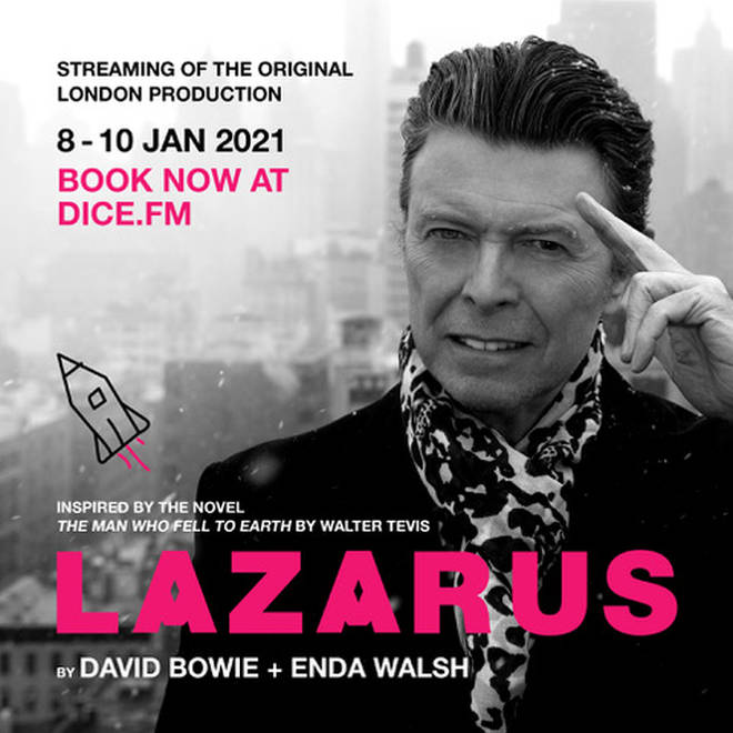 David Bowie's Lazarus play set for livestream event