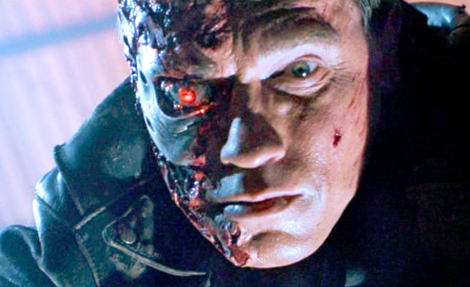Something to look forward to? Arnold Schwarzenegger in Terminator 2: Judgment Day