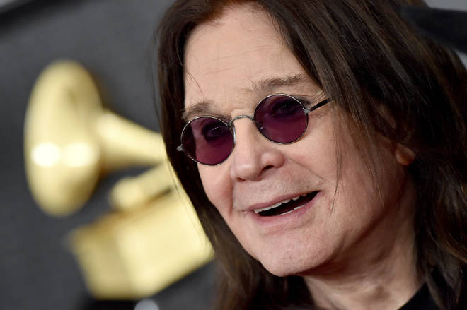 Ozzy Osbourne attends the Grammy Awards in 2020