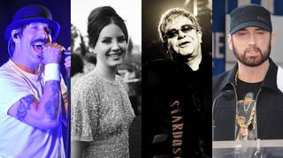Musicians who live the clean lifestyle: Anthony Kiedis, Lana Del Rey, Elton John and Eminem
