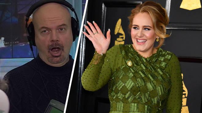 Dominic Byrne's impression of Adele is something else