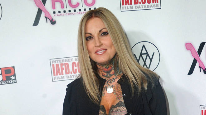 Janine Lindemulder arrives for the 33rd Annual XRCO Awards Show, April 2017