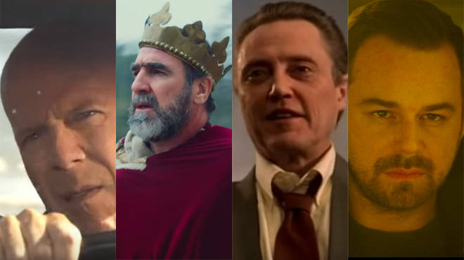 Celebrity cameos in music vids: Bruce Willis, Eric Cantona Christopher Walken and Danny Dyer