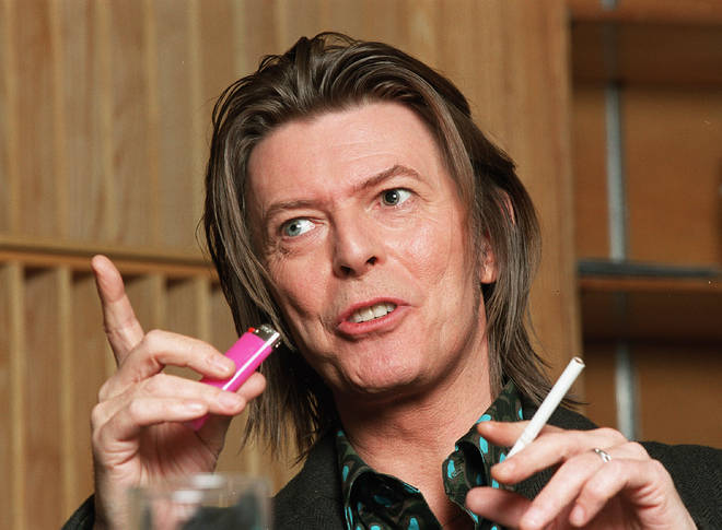 David Bowie at the BBC in 2001