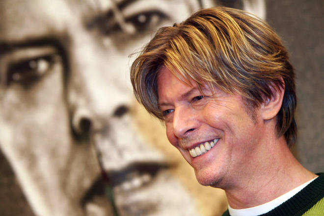 David Bowie in Paris, September 2002