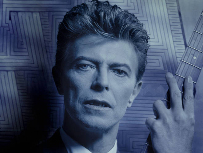 Bowie at the time of Tin Machine, October 1989