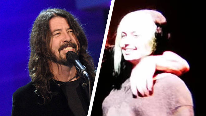Dave Grohl and his daughter Violet Grohl