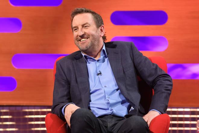 Lee Mack on the Graham Norton Show on 10 Dec 2020