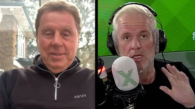 Harry Redknapp talks Crawley's FA cup win over Leeds with Chris Moyles