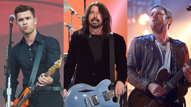 Royal Blood, Foo Fighters and Kings Of Leon - three artists who have confirmed album releases in 2021