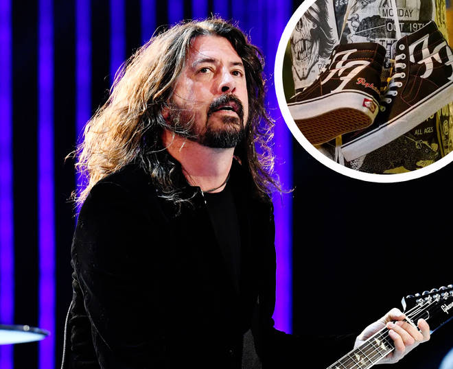 Foo Fighters have joined forces with Vans to release limited edition trainers