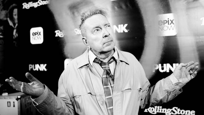 "John Lydon at the premiere Of Epix&squot;s ""Punk"" - Arrivals"