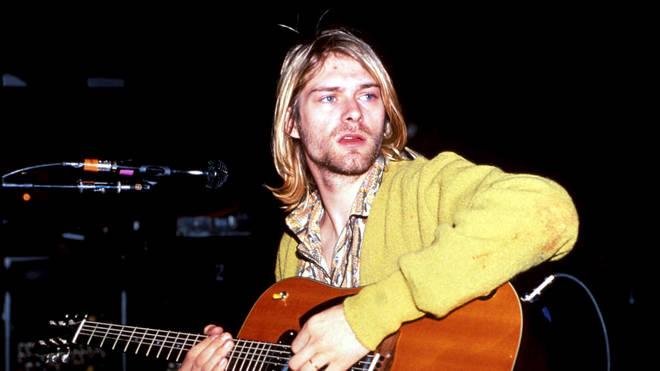 Nirvana frontman Kurt Cobain in 1990