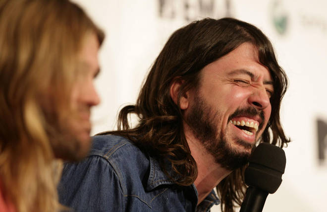 Dave Grohl at the MTV Awards 2007