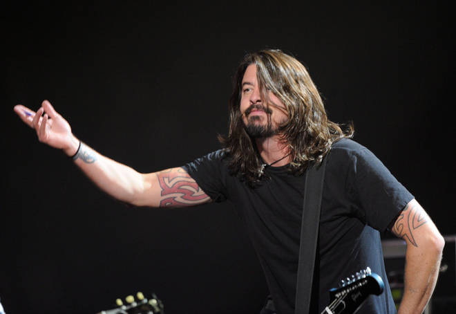 Dave Grohl at the MTV Europe Awards 2009