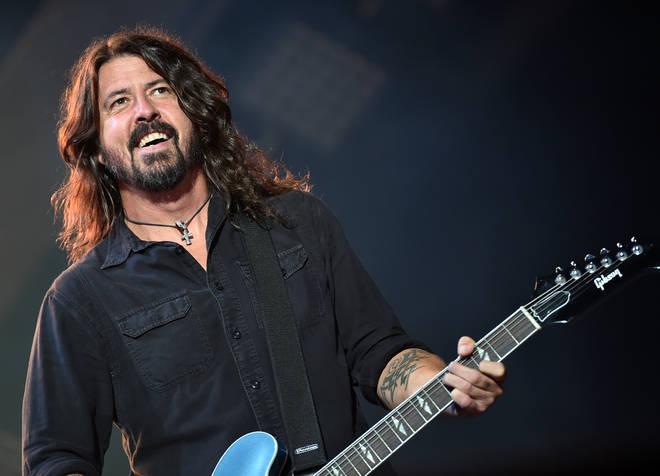 Foo Fighters perform at Loollapalooza 2017